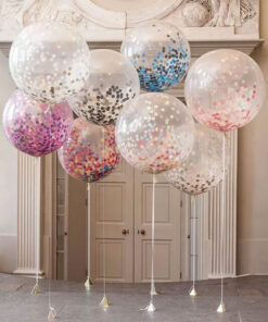 Baloane Jumbo 60 cm confetti