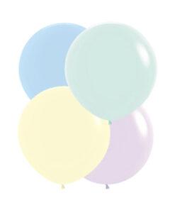 Baloane Jumbo 60 cm macarron