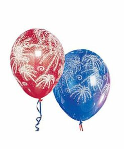Baloane inscriptionate artificii